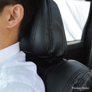 後部座席 シートカバー トヨタ アクア リア席[1列分]シートカバー プレミアムバケットホールド Z-style ※オーダー生産(約45日後)代引不可|carestar|12