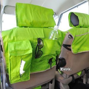 シートカバー 全席セット かわいい ソリッドカラー エプロンタイプ 軽自動車 普通車兼用 z-style|carestar|06