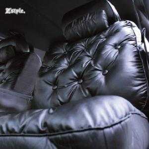 トヨタ bB グラマラス シートカバー 車種専用レザー ブラック シート カバー z-style|carestar|04