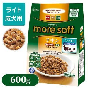 more soft モアソフト チキン ライト 600g (ドッグフード/セミモイストフード(半生タイプ)/ 肥満犬用(ライト)/アドメイト/ペットフード)