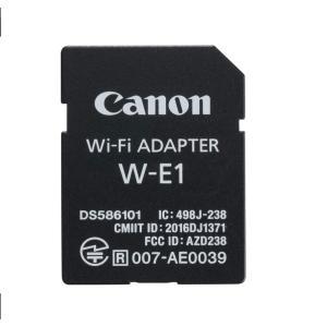 Canon Wi-Fiアダプター W-E1 キヤノン EOS 5Ds / EOS 5Ds R / E...