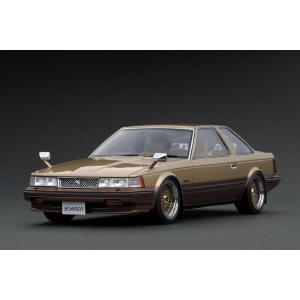 ignition model 1/18 トヨタ ソアラ 2800GT Extra  (Z10) 前期型 ゴールドII (BBS RS 17インチホイール)|carhobby