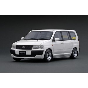 ignition model 1/18 トヨタ プロボックス GL (NCP51V) ホワイト (ハヤシストリート 14インチホイール)|carhobby