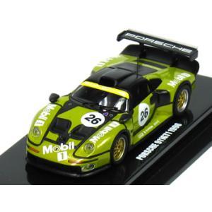 京商 1/64 ポルシェ 911 GT1 予備予選仕様 No.26 ルマン 1996