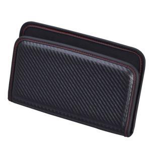 W844 フィットポケット Lカーボン セイワ カー用品 SEIWA|carlife
