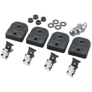 カーメイト IF52 角穴アダプターS ブラック 釣り用品 FIRSTSTRIKE(ファーストストライク) ロッドホルダー パーツ 補修部品 carmate|carmate