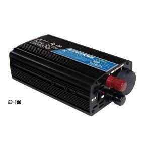 DCDCコンバーター ED-100 DC24V/DC12V 10A USB付 大自工業製|carmeister