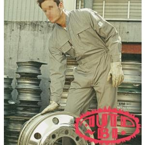 シンプル&高機能 オートバイ印長袖つなぎ 5750 4L・5L 【山田辰・AUTO-BI・長袖・ツナギ】|carnalead
