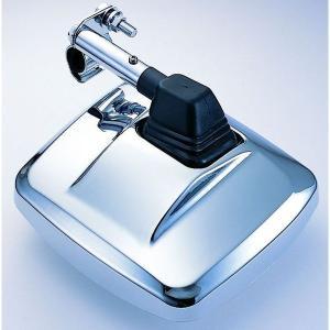 汎用 LHアンダーミラー サイドアンダーミラー クロームメッキ 曲面レンズ 300R|carpart83