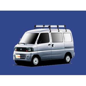 クリッパーバン U71V U72V ルーフキャリア TUFREQ HH233C ハイクオリティ Hシリーズ 6本足 ハイルーフ 送料無料 carpart83