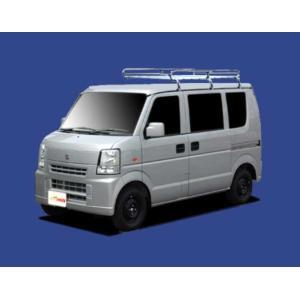 エブリィ DA64V DA64W ルーフキャリア TUFREQ L271 標準ルーフ 安い! コストパフォーマンスに優れる Lシリーズ 6本足 雨ドイ付車 標準ルーフ 送料無料|carpart83