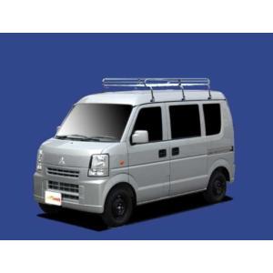 ミニキャブ DS64V ルーフキャリア TUFREQ L276 ハイルーフ 安い! コストパフォーマンスに優れる Lシリーズ 6本足 雨ドイ付車  送料無料|carpart83