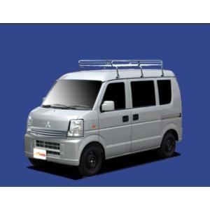 タウンボックス DS64W ルーフキャリア TUFREQ L276 ハイルーフ 安い! コストパフォーマンスに優れる Lシリーズ 6本足 雨ドイ付車  送料無料|carpart83