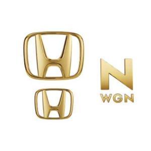 NWGN ゴールドエンブレムセット Honda純正アクセサリー|carpart83