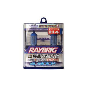 [ RA43 ] H4 ハイパーハロゲン [ ホワイトソニックS ] ( レイブリック RAYBRIC )|carpart83