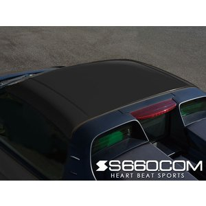 S660 COM SPIDER S660(JW5) カラードハードトップ ver S【塗装済(黒)】