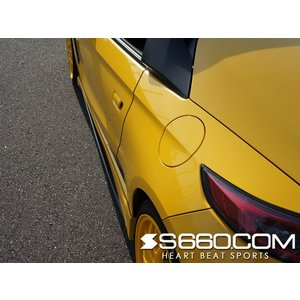 S660 COM エアロパーツ SPIDER S660(JW5) サイドステップ【未塗装