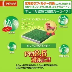 3000円以上購入で送料無料 DENSO デンソー カーエアコン用フィルター クリーンエアフィルター DCC1009|CarParts TSC