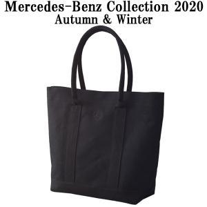 メルセデスベンツコレクショングッズ トートバッグ キャンバス ブラック/ブラック B91302450|carpartstsc