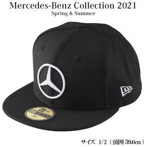 メルセデスベンツコレクショングッズ Mercedes-Benz×NEW ERA 59FIFTY ブラック サイズ:7 1/2 B91403393|carpartstsc