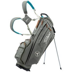 メルセデスベンツコレクション Mercedes-Benz×Titleist スタンドバッグ サンドベ...