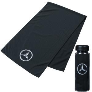 メルセデスベンツコレクション Mercedes-Benz×Titleist クーリングタオル ブラッ...