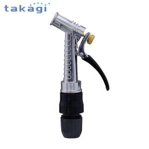 takagi タカギ ステンレス製 散水ノズル メタルガンS QG1128GY