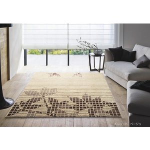 スエードタッチのラグ スミノエ メルレット 200×250cm ラグマット カーペット おしゃれ 長方形 防ダニ 床暖ホットカーペット対応 滑り止め 日本製|carpet-jp