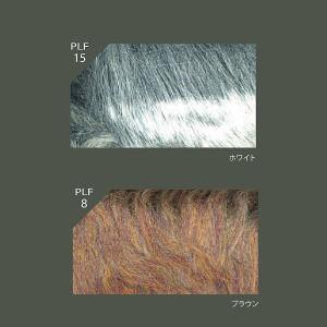 プラチナファー円形ラグマット100×100cm丸毛足の長いラグ carpet-jp 02