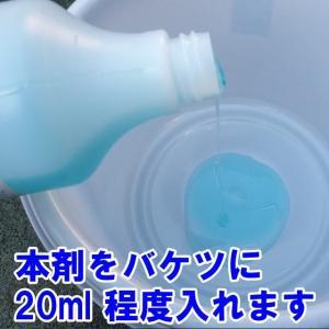 超濃厚カーシャンプー 大容量 1000ml 濃密泡で優しく洗い上げる 業務用 洗車 水垢除去 水アカ 洗剤|carpicaism|02