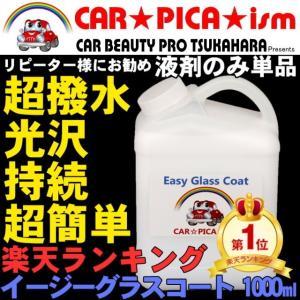 イージーグラスコート 1000ml 液剤のみ ガラスコーティング剤 メンテナンス ワックス 車 コーティング