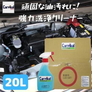 エンジン ルーム  油分 除去 汚れ 取り 落し 洗車 洗剤 オイル グリス カーケア用品 エンジンクリーナー  /業務用強力洗浄 クリーナー 20L 送料無料|carpikal360