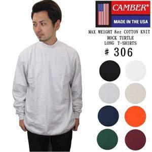 CAMBER キャンバー 306 MOCK TURTLE モックネック ロングスリーブ Tシャツ メ...