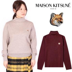 メゾンキツネ Maison kitsune カーディガン ニット セーター fox head pat...
