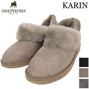 (SALE) SHEPHERD シェパード ムートンブーツ レディース ムートン シープスキンブーツ KARIN ショート もこもこ ファー 北欧|carre-store
