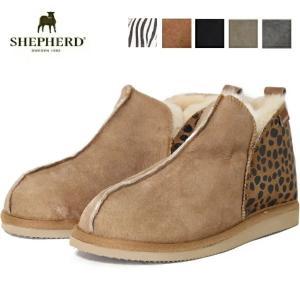 (SALE) SHEPHERD シェパード ムートンブーツ レディース ムートン シープスキンブーツ NICOLE ショート もこもこ ファー 北欧|carre-store