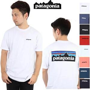 パタゴニア PATAGONIA Tシャツ P-6 LOGO RESPONSIBILI-TEE WHI...