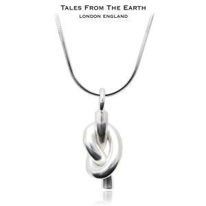 シルバーペンダント 幸運のノット ネックレス イギリス TALES FROM THE EARTH|carron