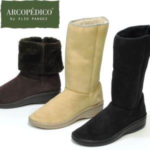 ムートンブーツ レディース ショート ミドルブーツ 歩きやすい 快適 アルコペディコ MILAN2 ARCOPEDICO|carron