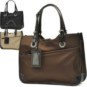 ビジネスバッグ レディース ナイロン 大容量 通勤 仕事 女性 ビジネストート ショルダーバッグ A4|carron