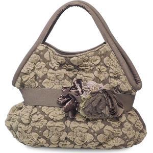 ショルダーバッグ レディース レディス 軽量 ニットコンビ フラワーモチーフ 異素材MIX イタリア製 OTTAVIA アデール bag|carron