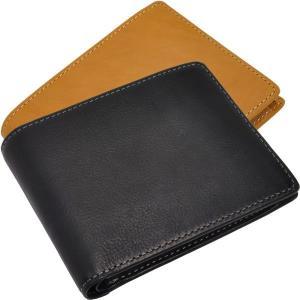 二つ折り財布 メンズ Men's L字ファスナー小銭入れ付 ベジタブルレザー 全3色 レディース レディス|carron