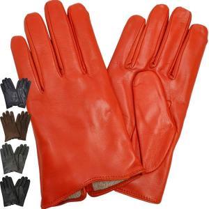 手袋 メンズ Men's グローブ 防寒 革 皮 てぶくろ あったか 暖かい レザー ウール 革手袋 皮手袋 シープスキン イタリア AntonioMurolo|carron