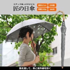 日傘 長傘 スパッタリング ヌーベルジャポネ スライド ショート傘 軽量 丈夫 UV レディース 日本製 メンズ Men's|carron