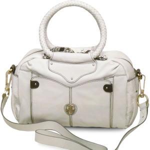 ハンドバッグ レディース レディス 通勤 ホワイト 本革レザー 2WAY ボストンバッグ 斜め掛け 英国ロンドンブランド ameko シェイラ brand bag|carron