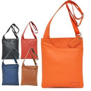 ショルダーバッグ 斜め掛け 薄型 本革  レディース レディス メンズ Men's ボディーバッグ 旅行 ジェニファー bag|carron