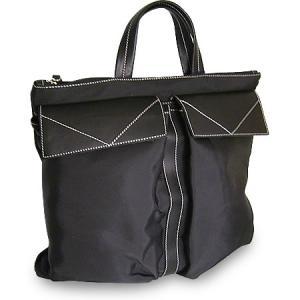 トートバッグ レディース レディス 通勤 軽量 ナイロン 本革レザー A4 2WAY 斜め掛け イタリアブランド ROBERTA GANDOLFI セーリア brand bag|carron