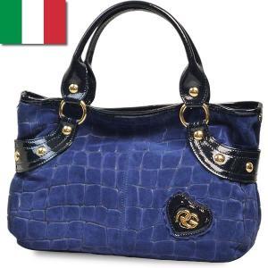 トートバッグ レディース レディス クロコ型押し スエード エナメル コンビ 本革レザー パテント イタリアブランド ROBERTA GANDOLFI マレーラ brand bag|carron