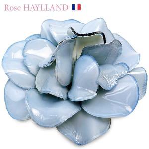 ナチュラルブローチ レディース レディス ゼラニウム・グラン フラワーモチーフ フランスブランド ROSE HAYLLAND brand|carron