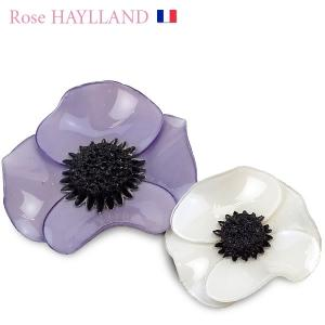 ナチュラルブローチ レディース ダブルポピー フラワーモチーフ フランスブランド ROSE HAYLLAND|carron